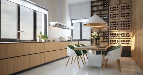 Създайте шик в дома си, като превърнете малкото пространство в кът за вино