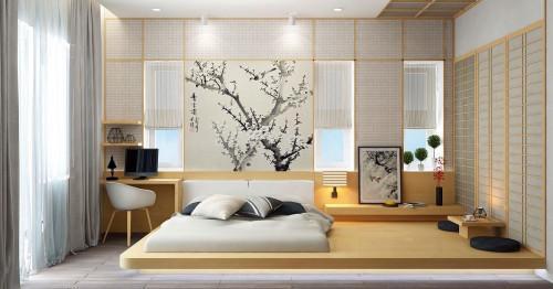 Вижте как да постигнете красотата и простотата на японската спалня