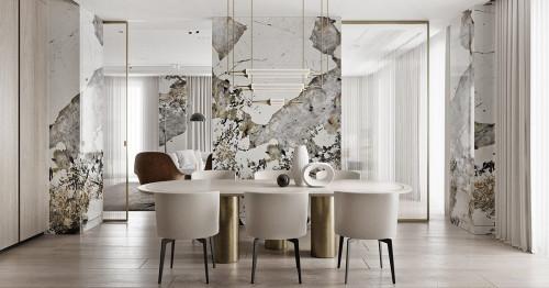Добавете класическо усещане и лукс с мрамор в своя дом