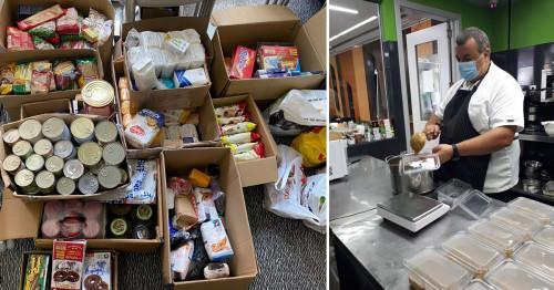 """Близо 500 кг храна бе събрана в кампания на BOSCH """"Не изхвърляй, помогни!"""""""