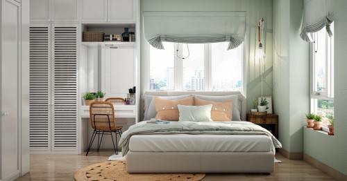 5 зашеметяващи спални  в зелено