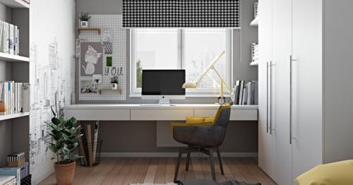 Удобно работно пространство в дома? Напълно възможно е!