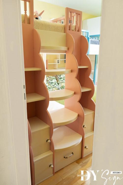 Стълба за двуетажно легло