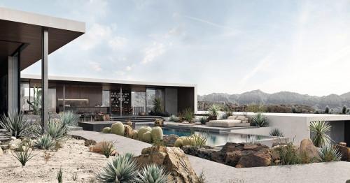 Невероятен дом насред пустинята
