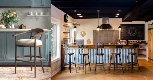 Бар столове в кухнята