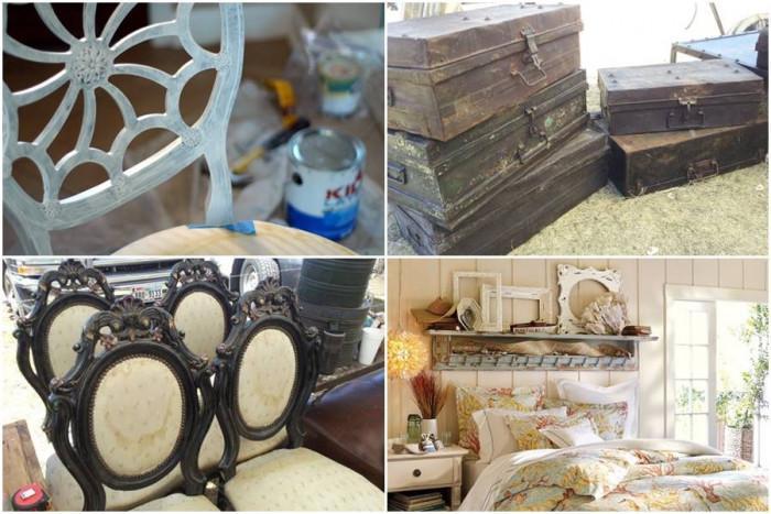 Реставрирайте старите мебели