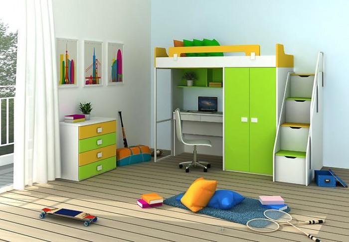 Легло – бюро – гардероб