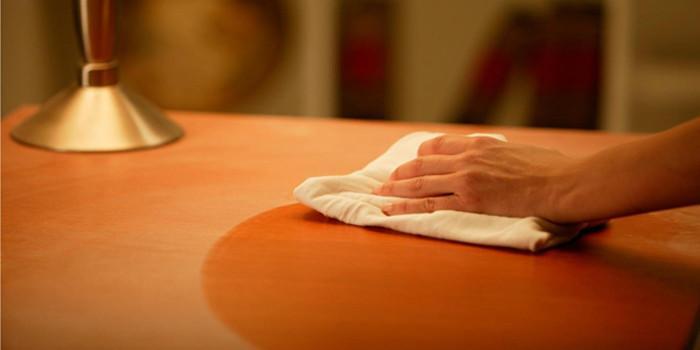 Стъпка 5: Избършете праха от мебелите!