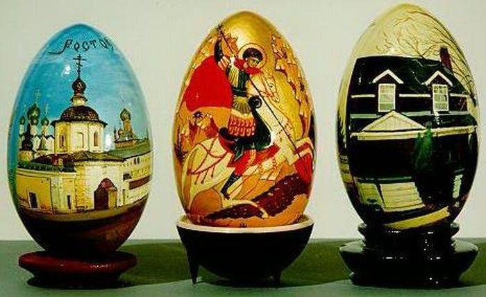 Изрисувани яйца