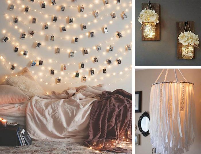 Осветлението в спалнята - как да го направим сами