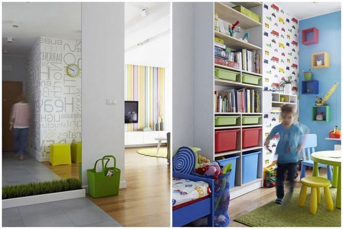 Детската стая е цветна и интересна