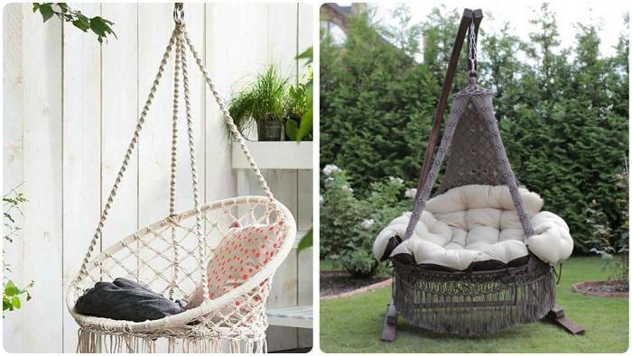 Кресло гнездо или тип хамак