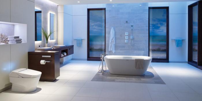 5 блестящи идеи за осветление в банята