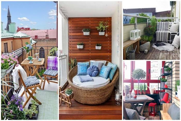 Поддържаният балкон е белег за красив дом