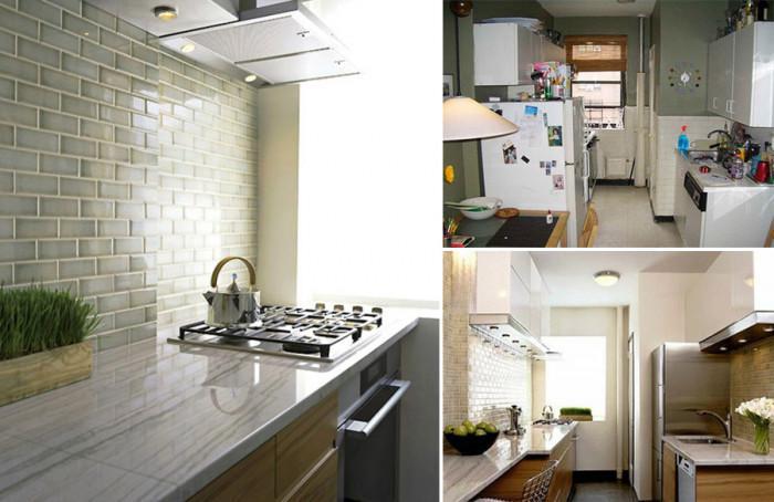 Преди и след: Кухненски интериор, променен до неузнаваемост