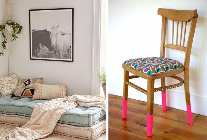 Да си направим мебели за сядане за спалнята