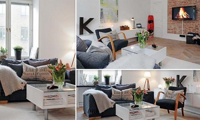 Очарователна всекидневна – простор, светлина и стил