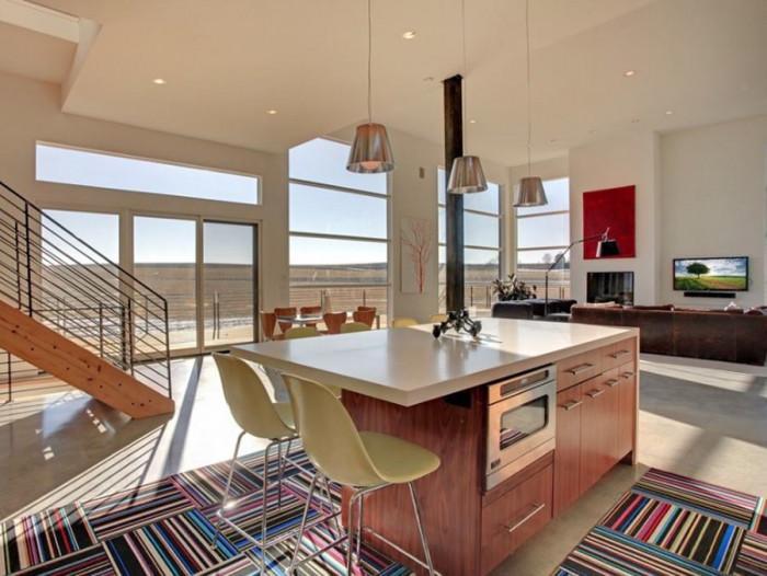 А какво можем да кажем за поставянето на килим в кухнята?