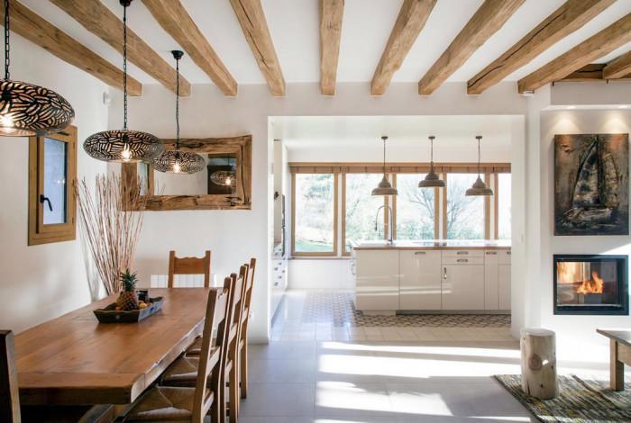 Селската къща - модерна и с хижарски дух