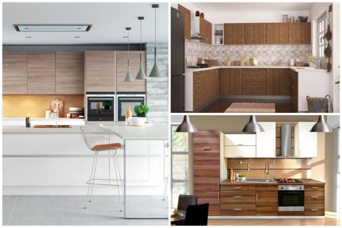 Впечатляващи идеи за уютна кухня с елементи от дърво