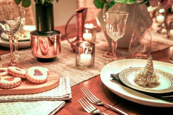 Превърнете храната в част от украсата