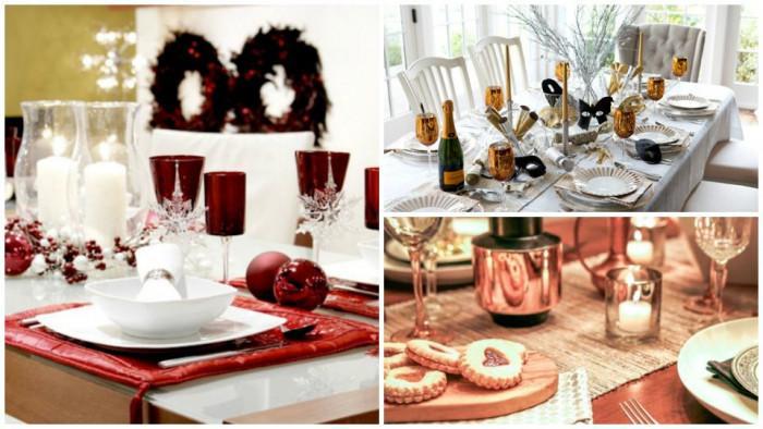 5 красиви идеи за празничната новогодишна трапеза