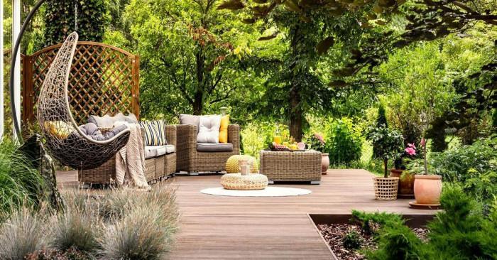 Тераса в градината – бягство от градската среда