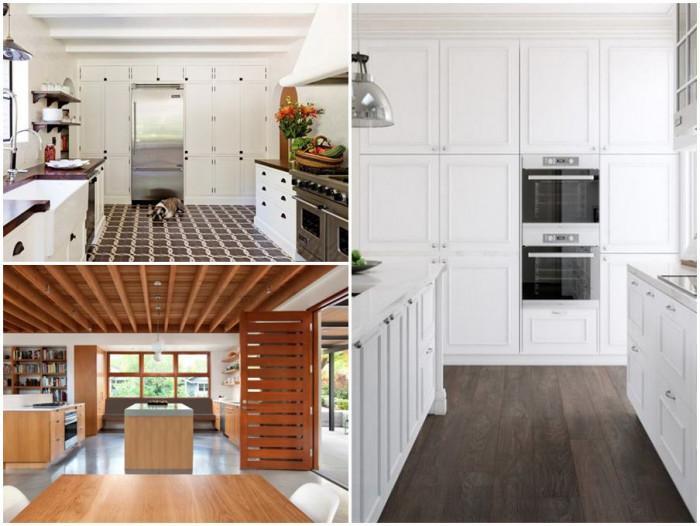 Кои са най-подходящите видове подови настилки за кухня?