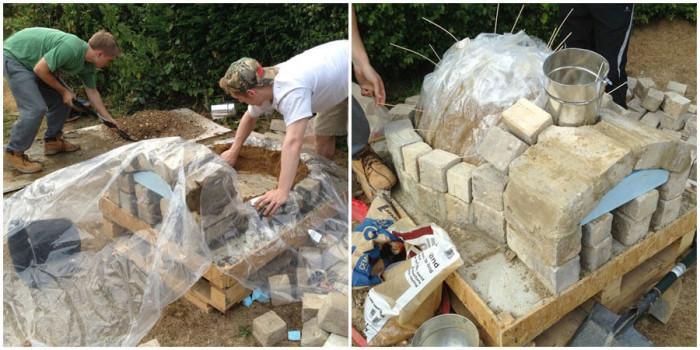 Идва ред на циментирането на основата