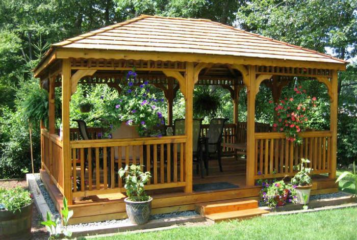 Малка градинска къщичка