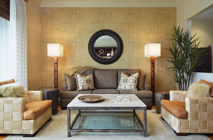 Тапети от бамбук - екзотично решение за модерен дом