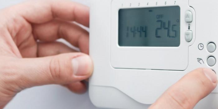 Намалете температурата на климатика или термостата