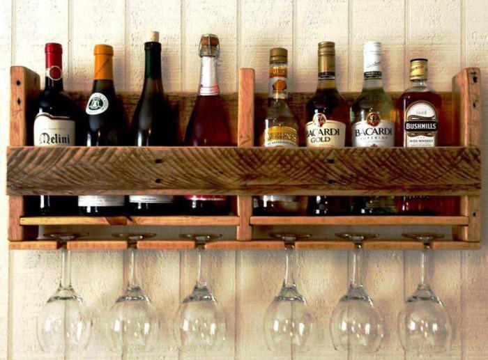 5. Органайзер за бутилки и чаши