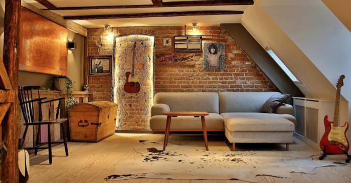 Артистична рок атмосфера ни посреща в дневната