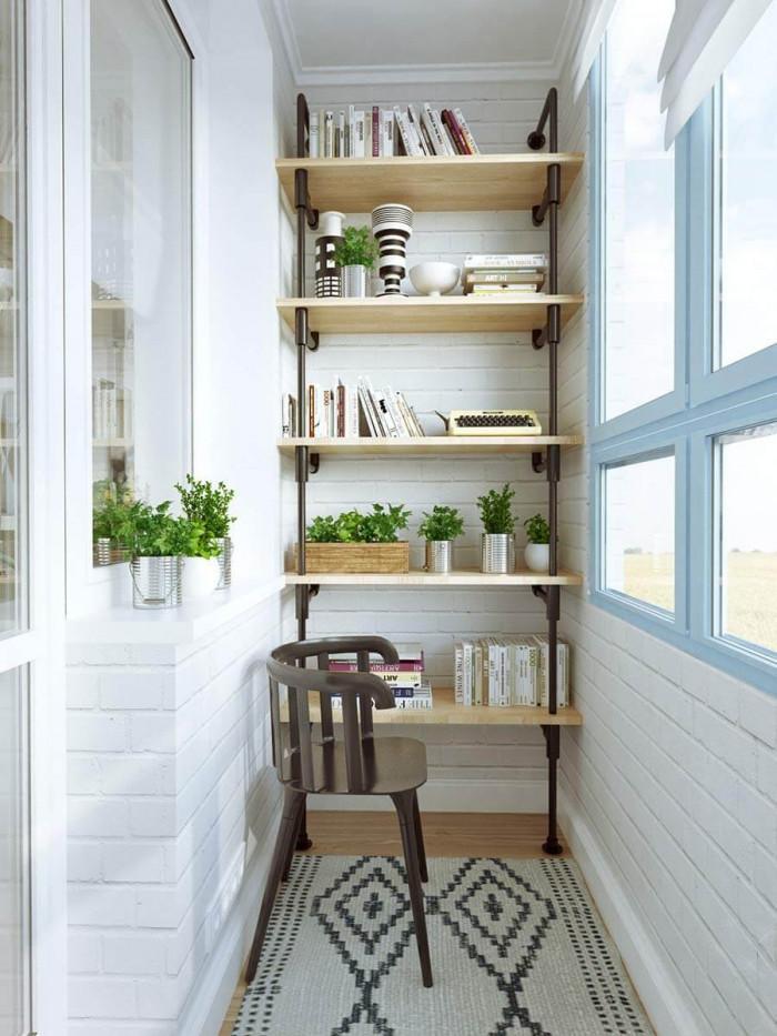 Малка, но уютна домашна библиотека