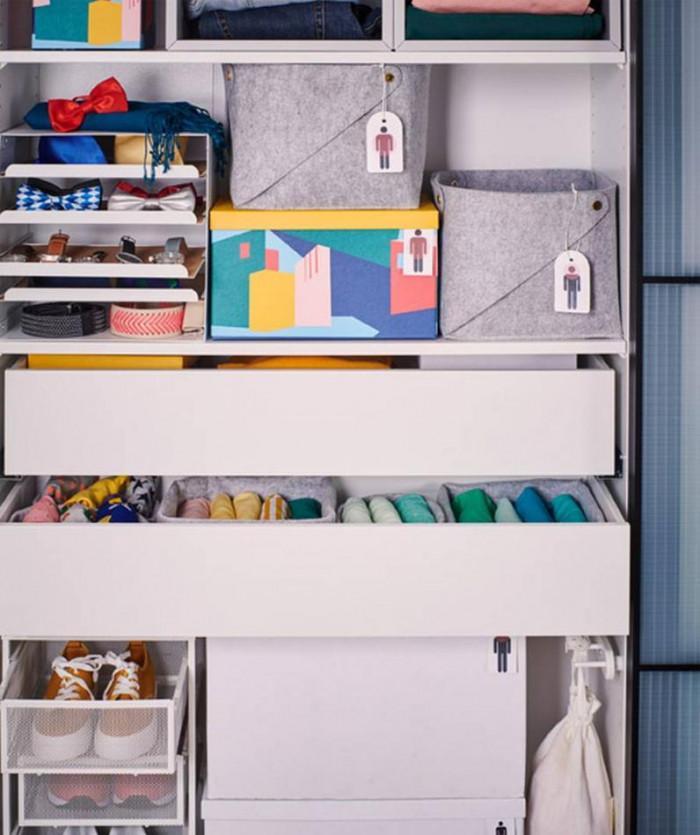 Подреди гардероба, така че да отговаря на твоите нужди