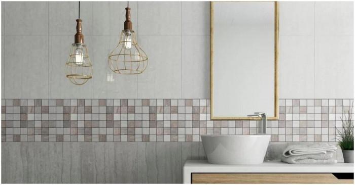 Плочките в банята - как да ги превърнем в красив акцент?