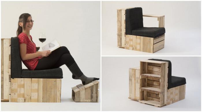 Приветствайте функционалните мебели от палети във вашия дом