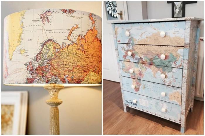 Планирайте следващото си голямо пътуване направо върху мебелите