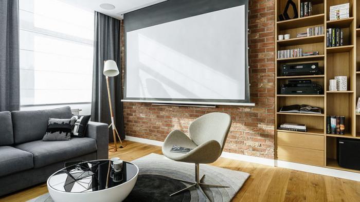 Технологичните решения заемат важно място в дизайна на дневната