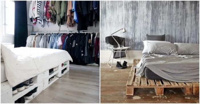 5 идеи за легло от палети
