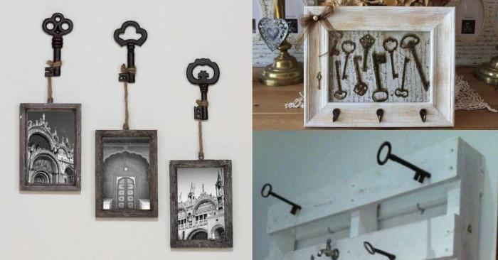 Ключове вместо закачалки