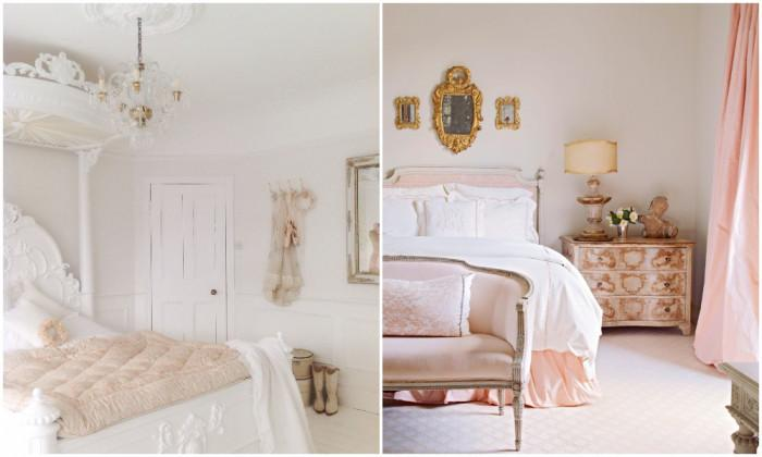 Мебелите в шаби шик спалнята