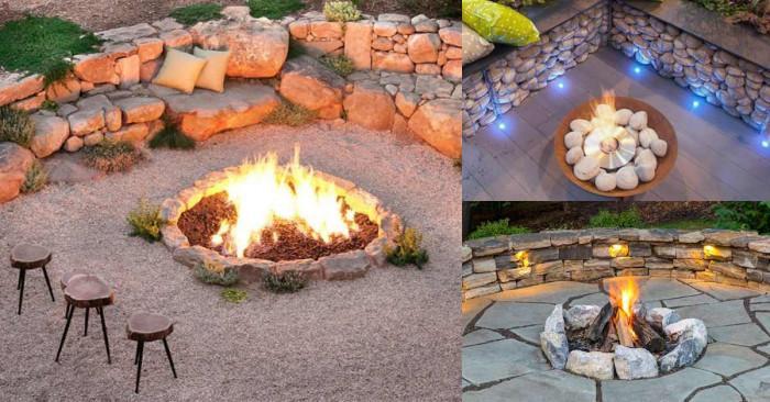 Огън, топлина и уют в градината