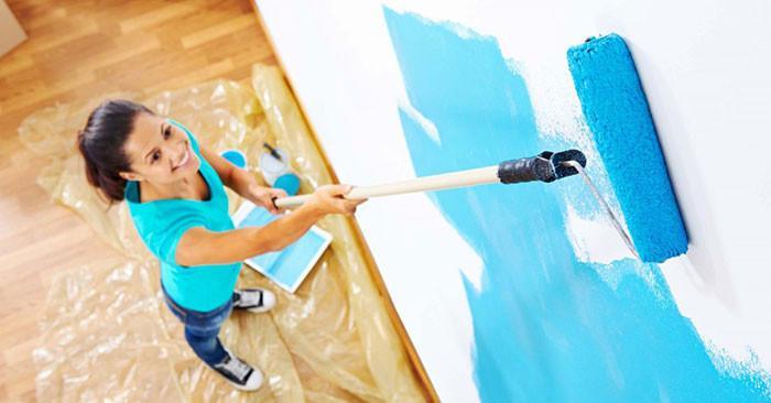 7 основни грешки при боядисване на стени