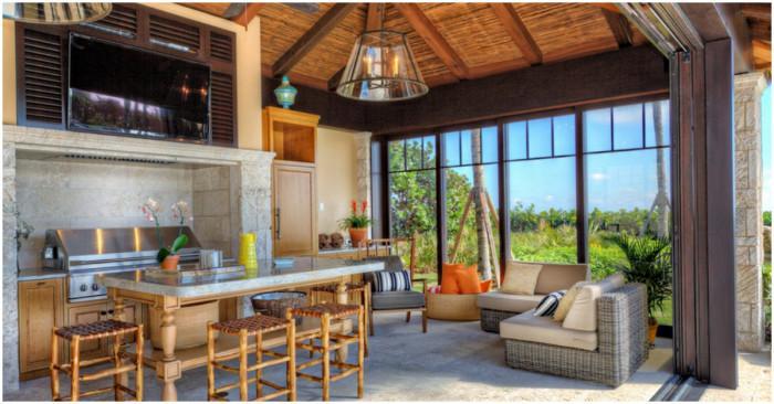 Кухня в тропически стил - как да я създадем?