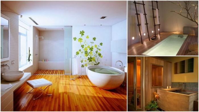 Банята в японския дом