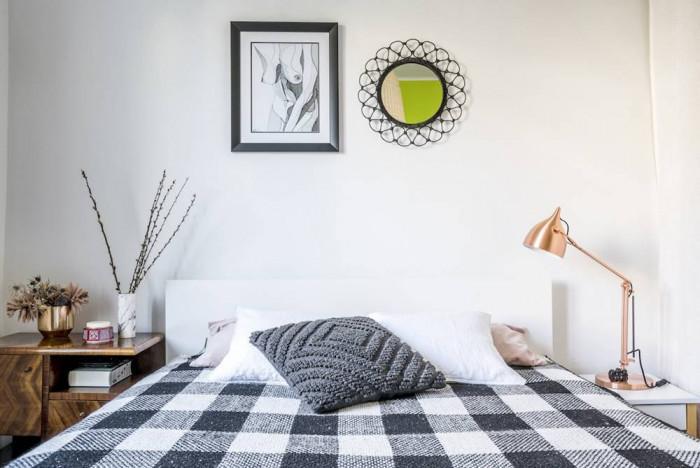 Малката спалня излъчва комфорт