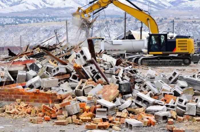 Къде е мястото за изхвърляне на строителни отпадъци?