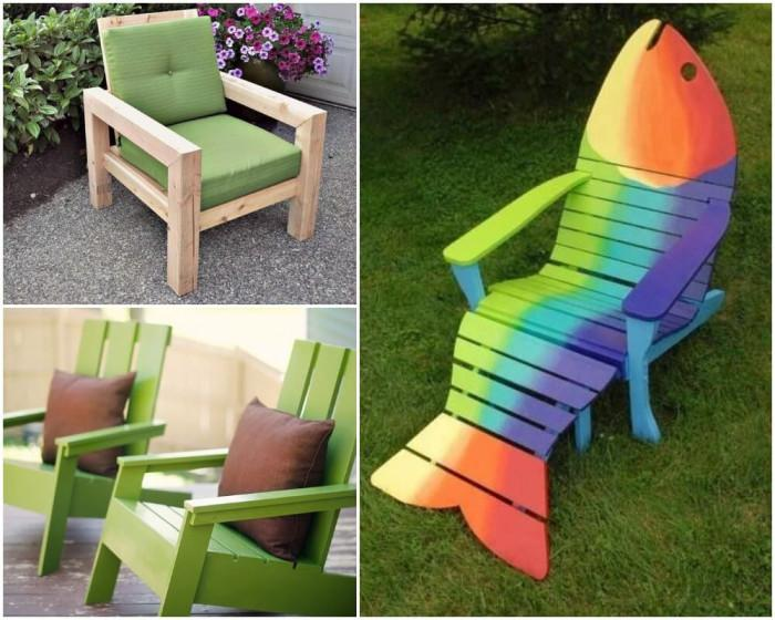 Удобно кресло, а защо не и нетипичен стол!
